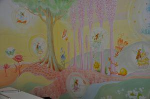 BIGGI HOPP Wandmalerei Kinderzimmer vorgestellt im BEraTina-Interview