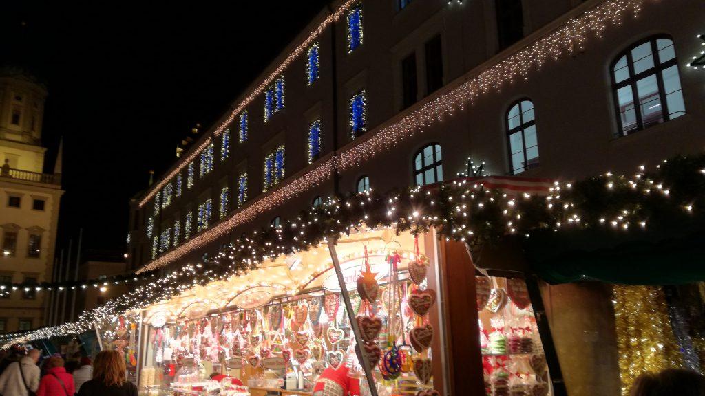 Weihnachtsmarkt Impression BeraTina Intervie mit Birte Höfert