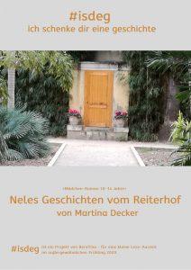 ich schenk dir eine geschichte #isdeg beratina nele reiterhof roman jugendliche mädchen